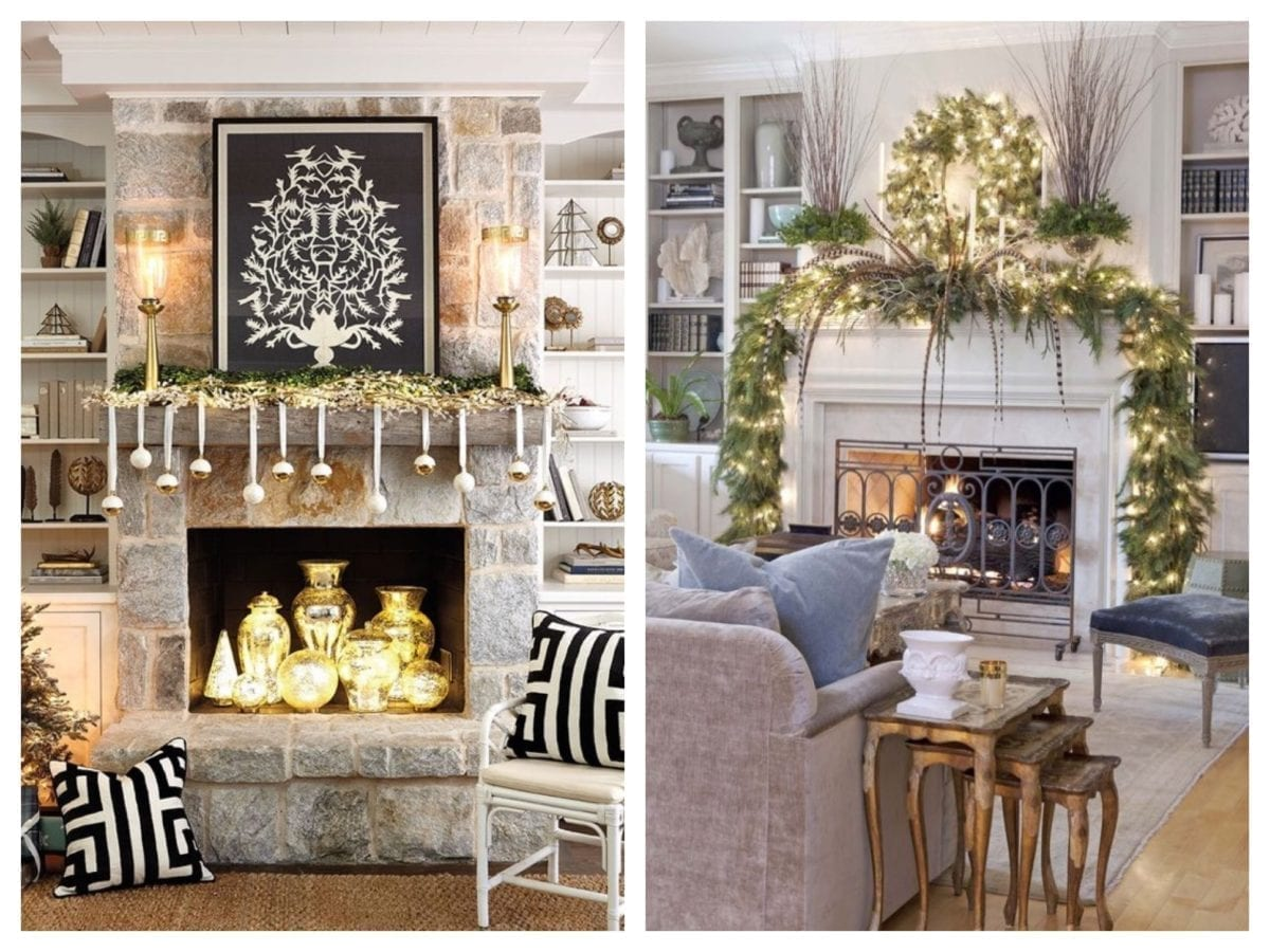 How to Style the Perfect Holiday Mantle