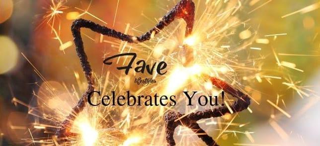 Fave Celebrates You