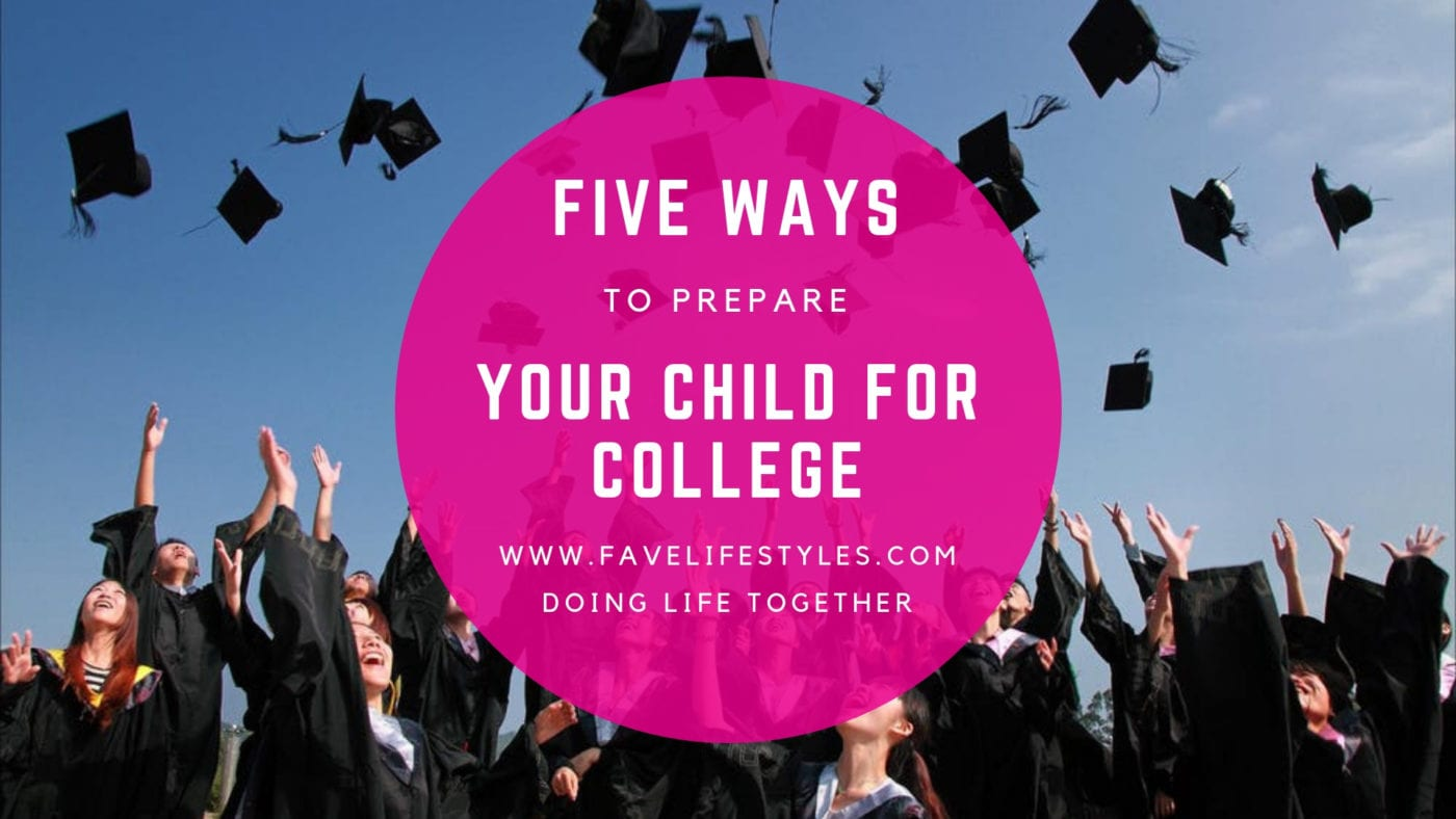 5 Steps to Preparing Your College Freshman