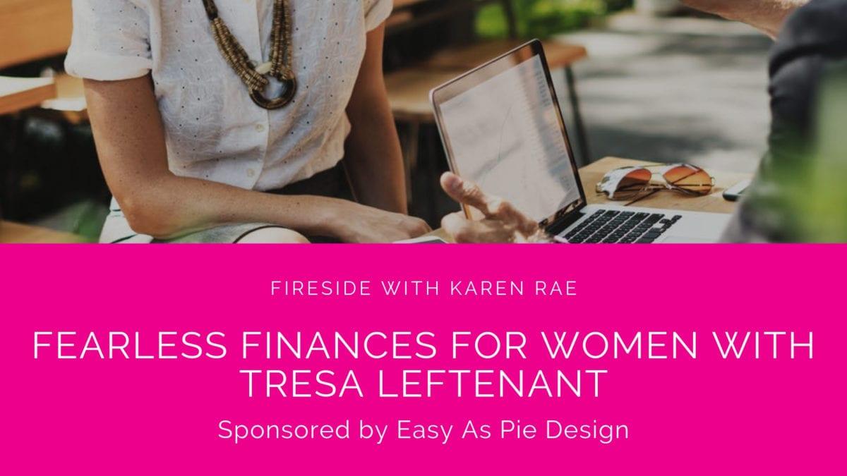 Fearless Finances for Women, Tresa Leftenant