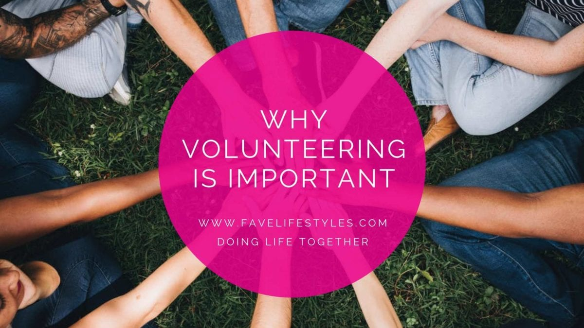 Why Volunteering is Important