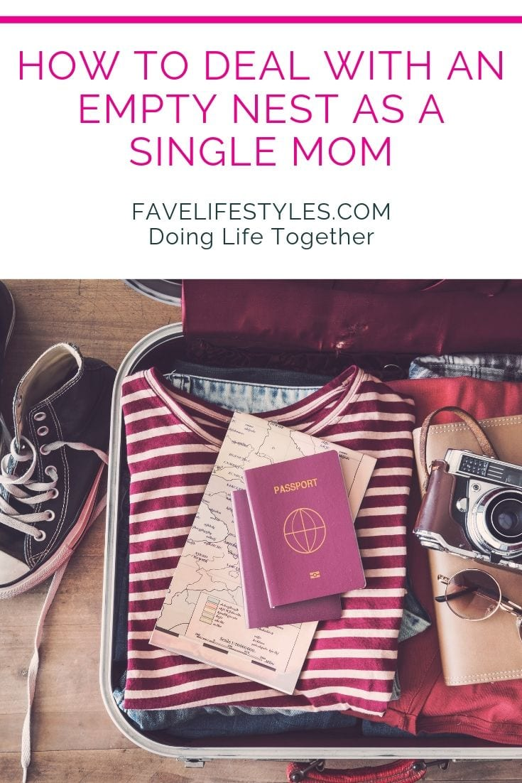 How to Deal with an Empty Nest as a Single Mom