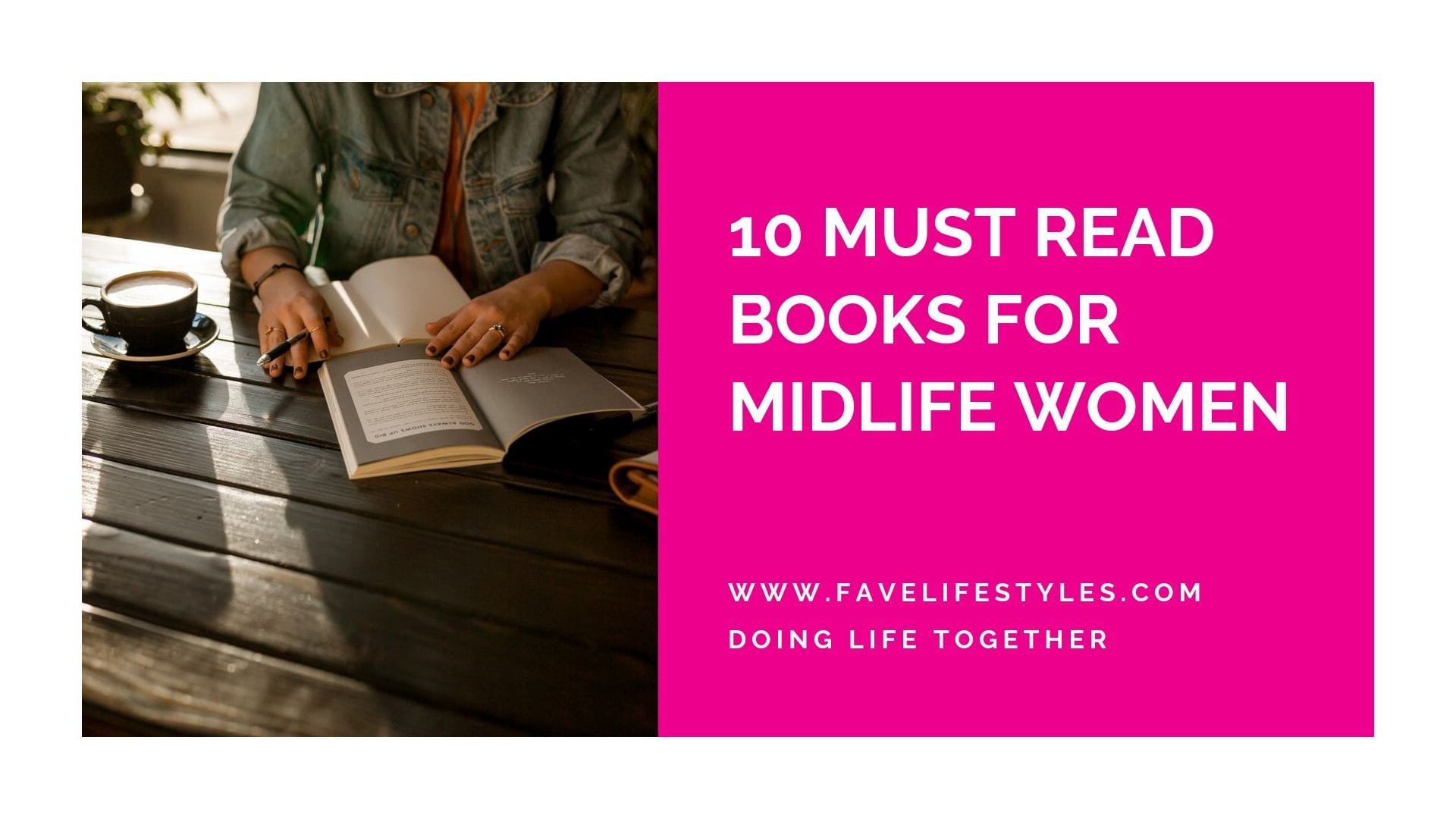 10 Must Read Books for Midlife Women