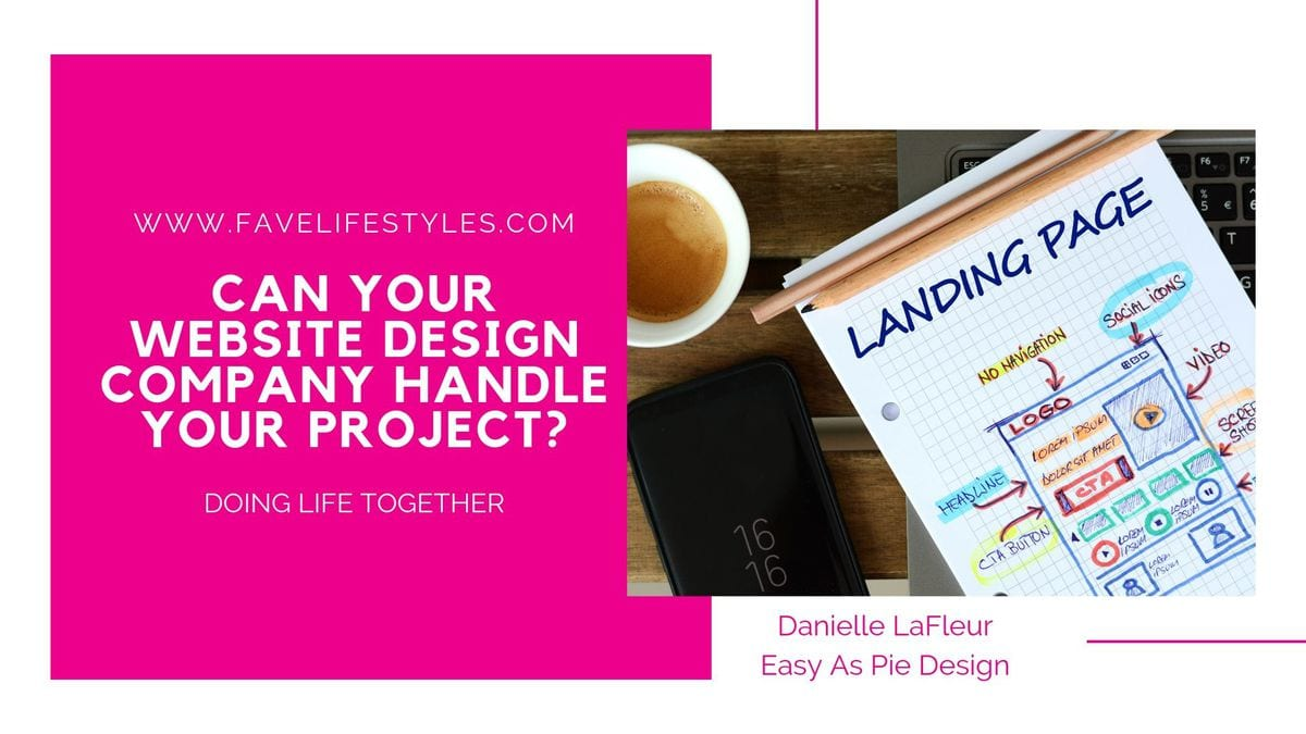 Can Your Website Design Company Handle Your Project?