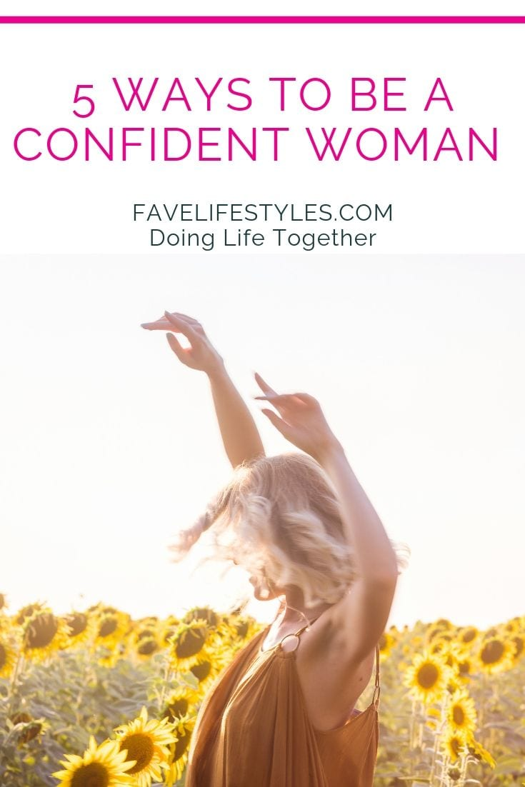 5 Ways to Be a Confident Woman