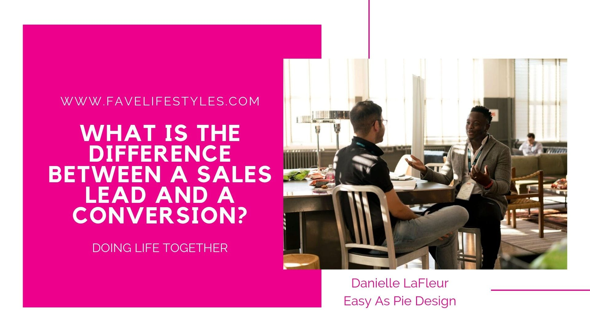 What is the Difference Between a Sales Lead and A Conversion?