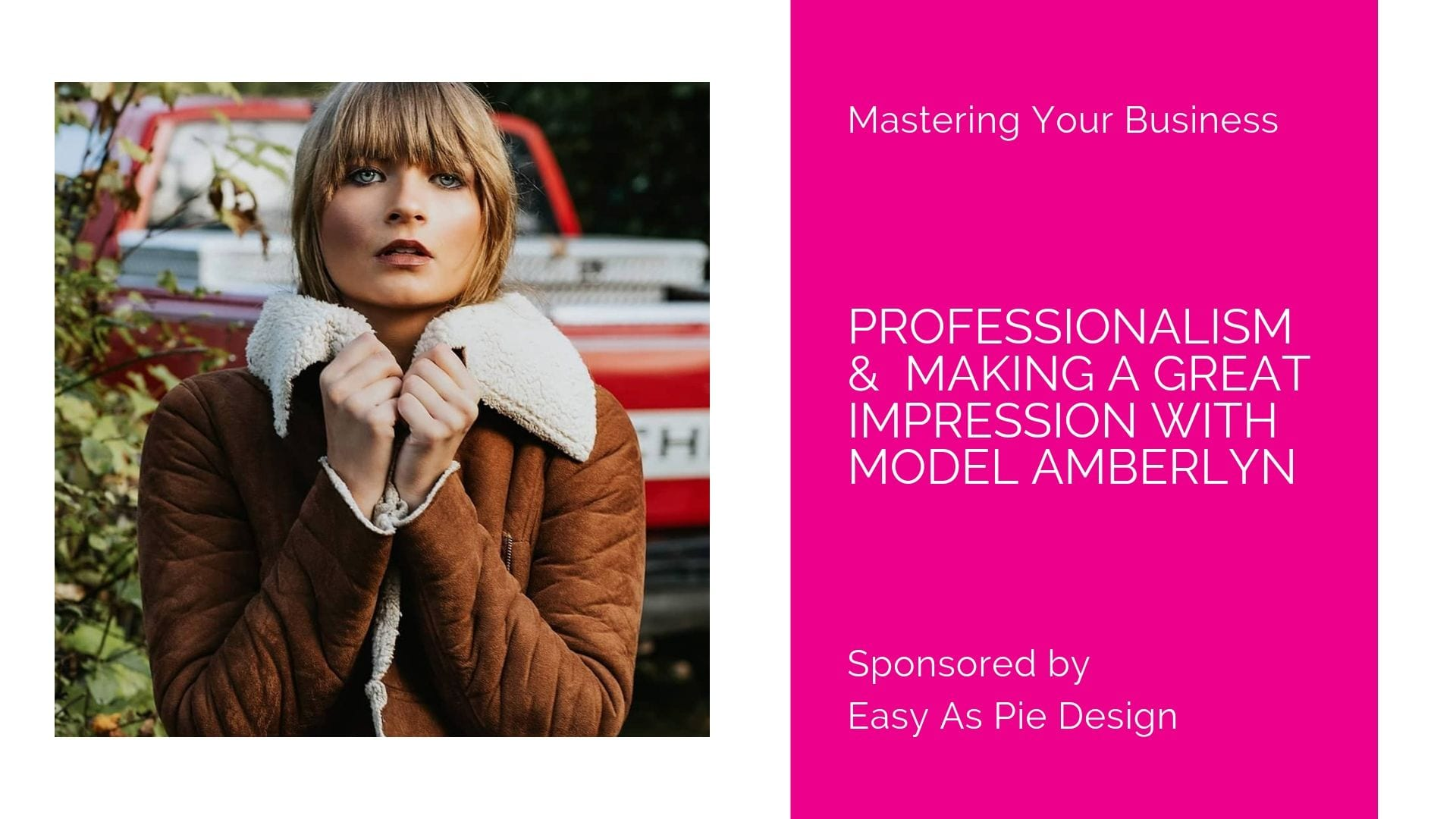 Mastering Your Business with Amberlyn Gizinski