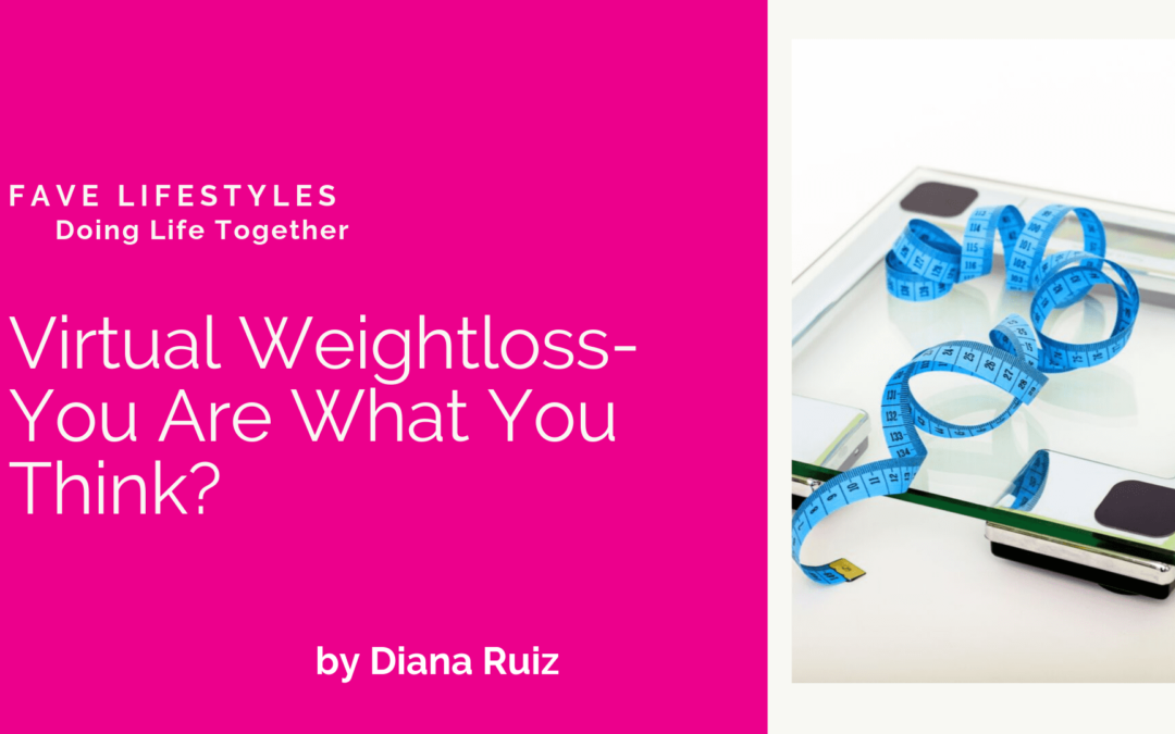 Virtual Weightloss – You Are What You Think?