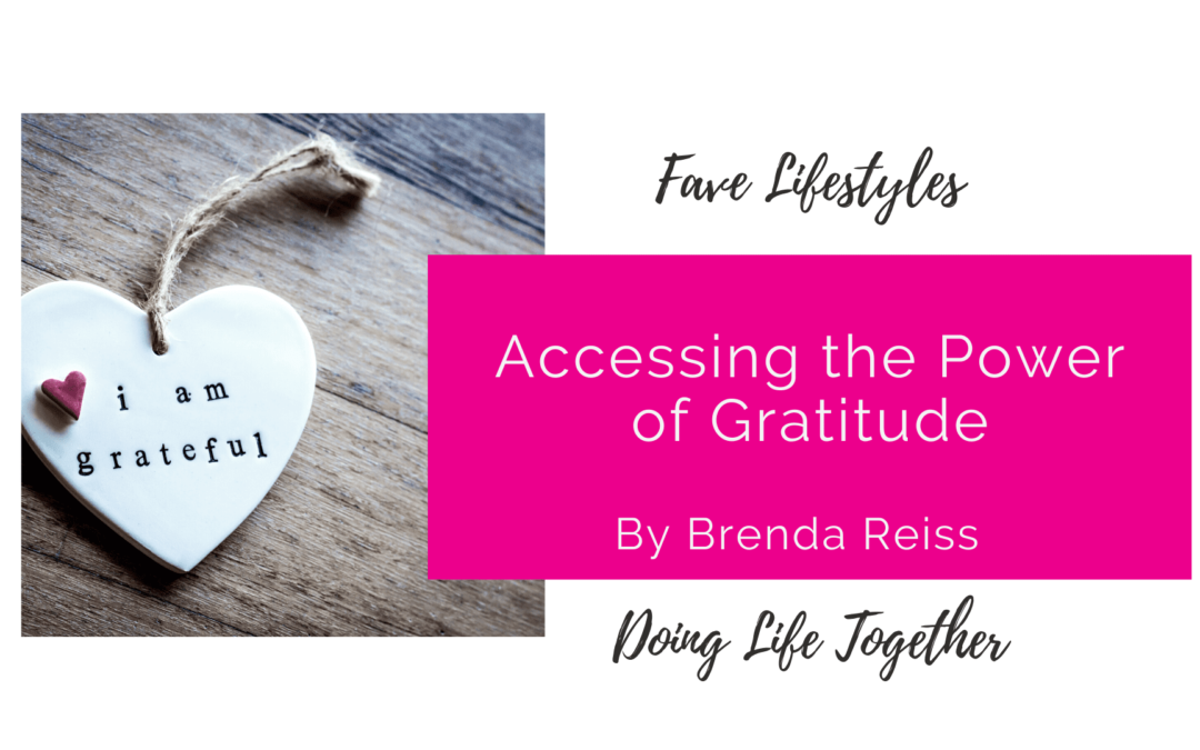 Accessing the Power of Gratitude
