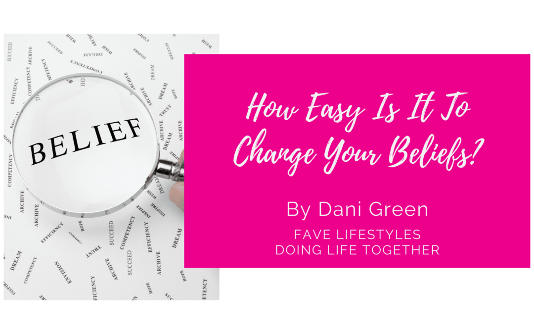 How Easy Is It To Change Your Beliefs?