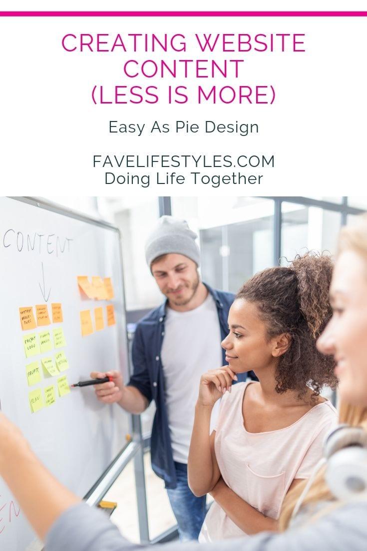 Creating Website Content