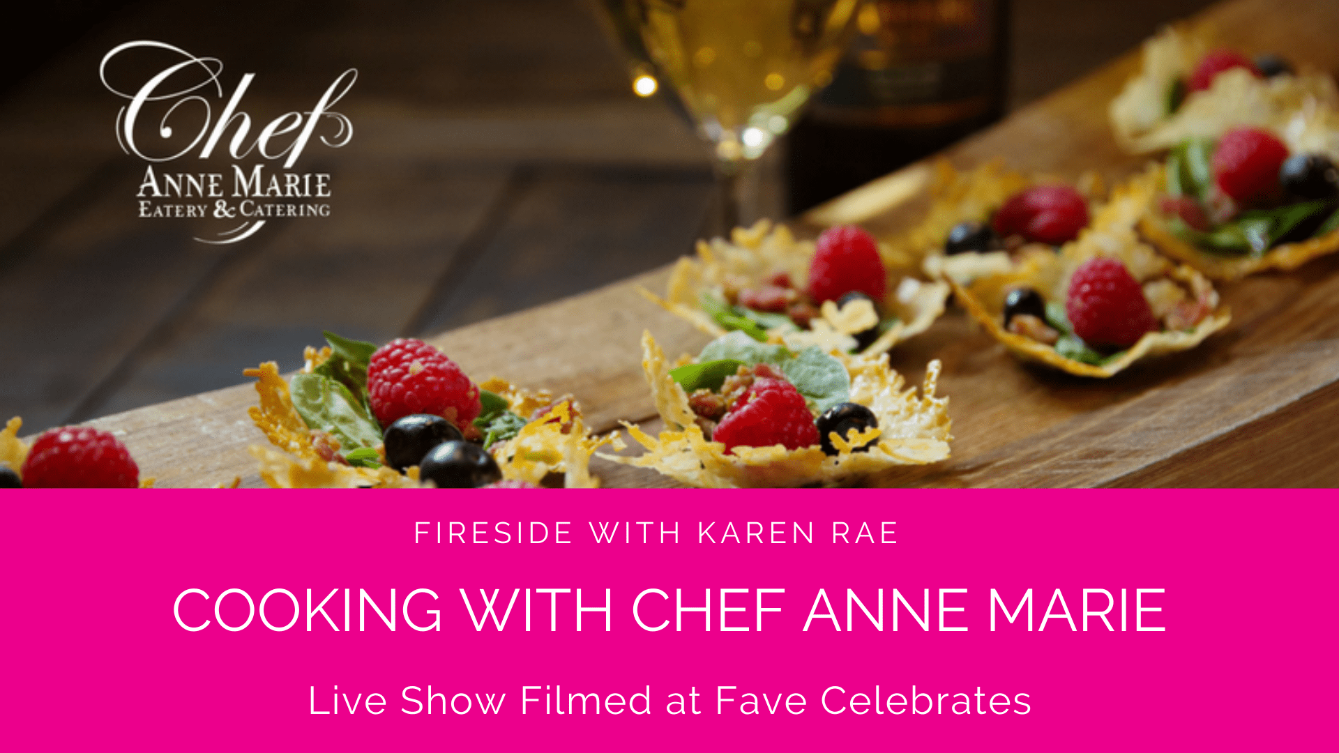 Cooking with Chef Anne Marie