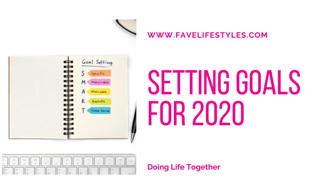Setting Goals For 2020