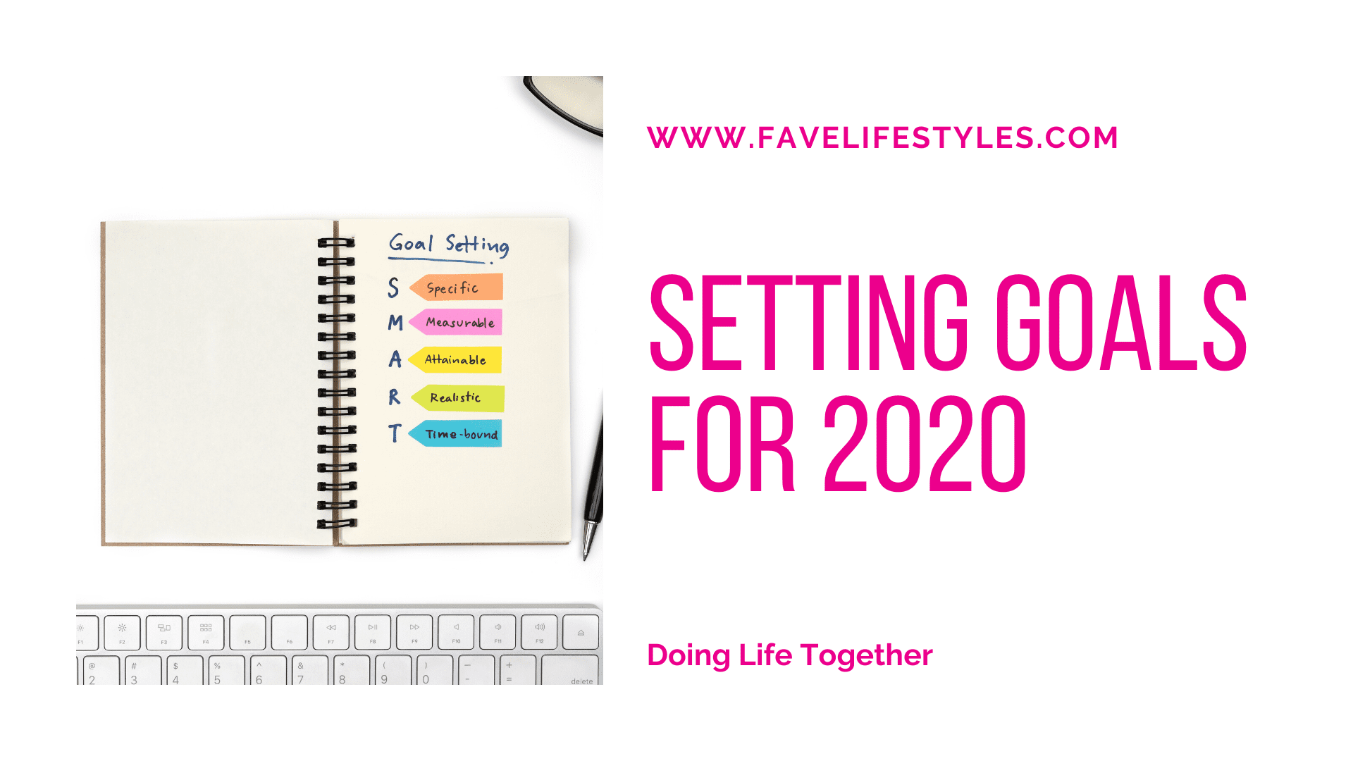 Setting Goals For 2020