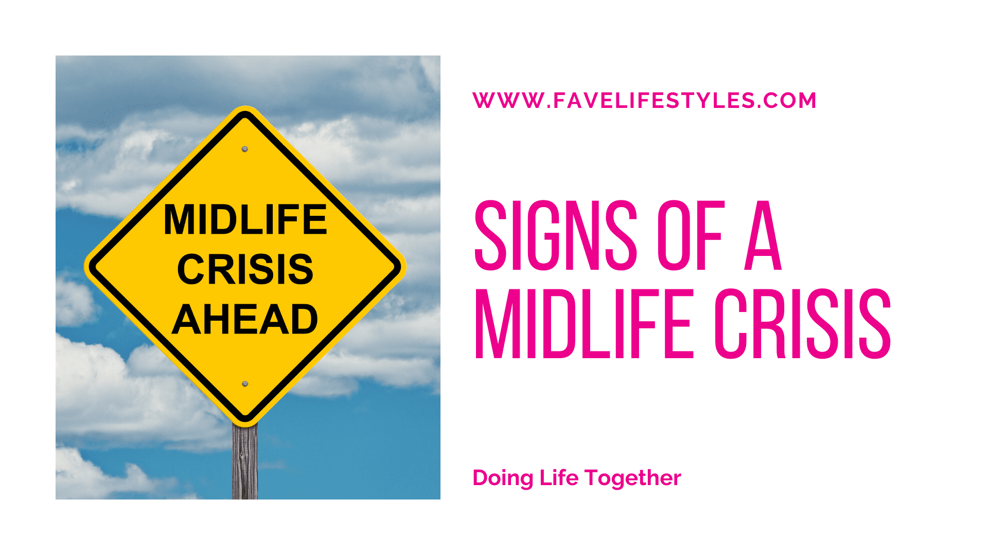 Signs Of A Midlife Crisis
