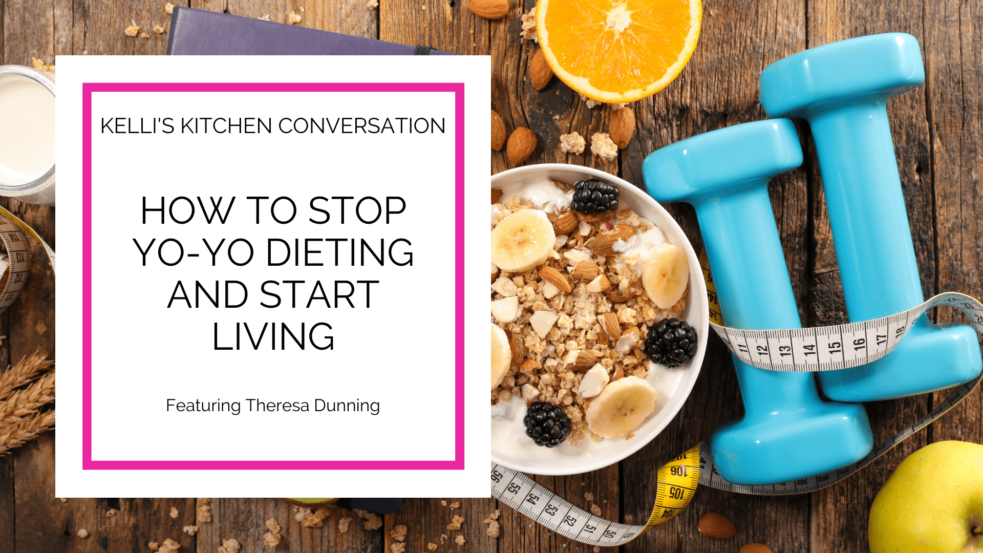 How to Stop Yo-Yo Dieting and Start Living