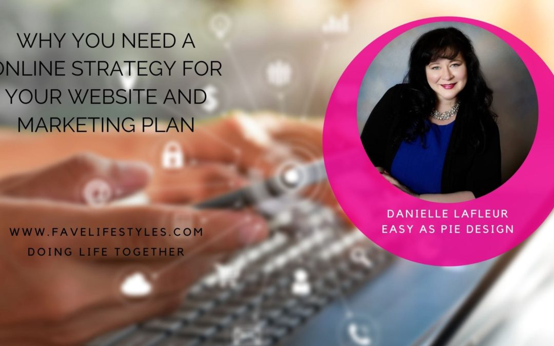 Why You Need A Online Strategy for Your Website and Marketing Plan