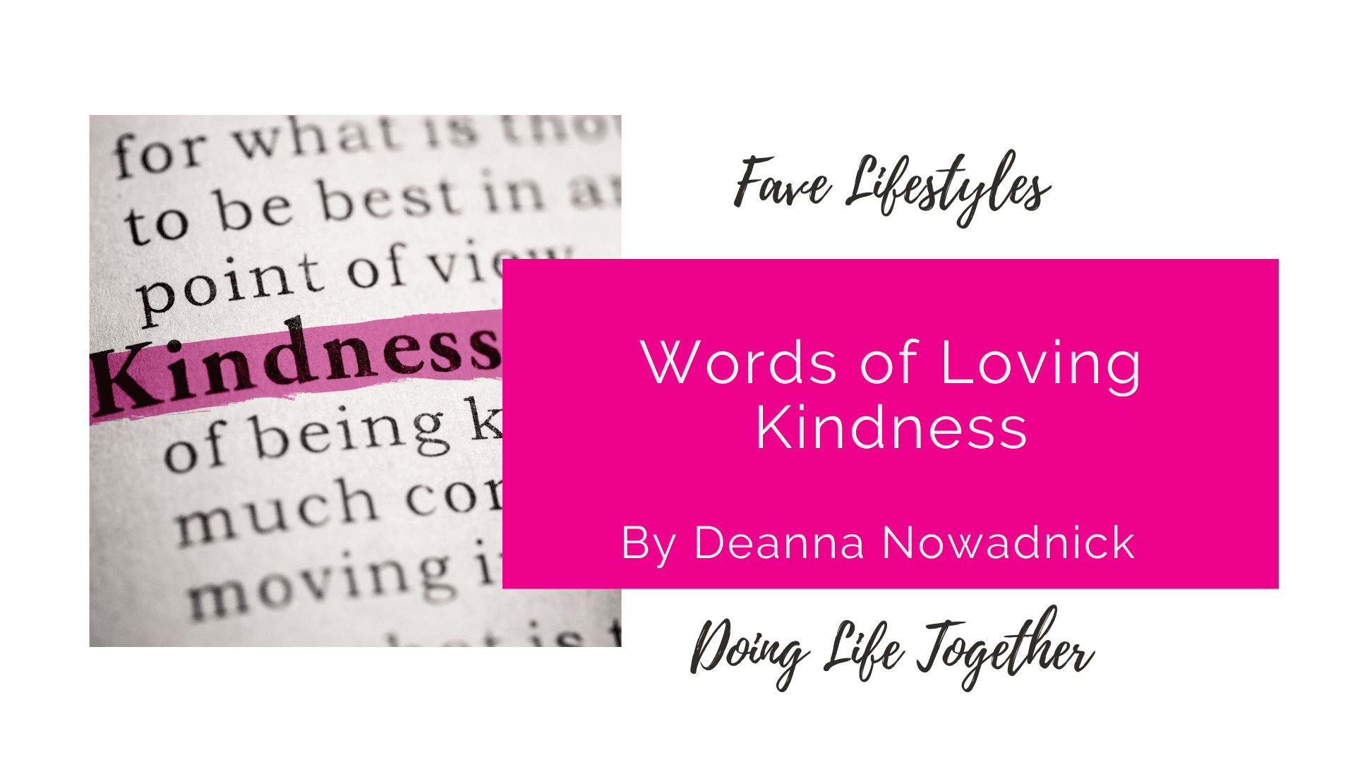 Words of Loving Kindness