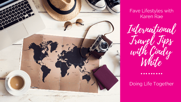 Packing Tips for International Travel with Cindy White