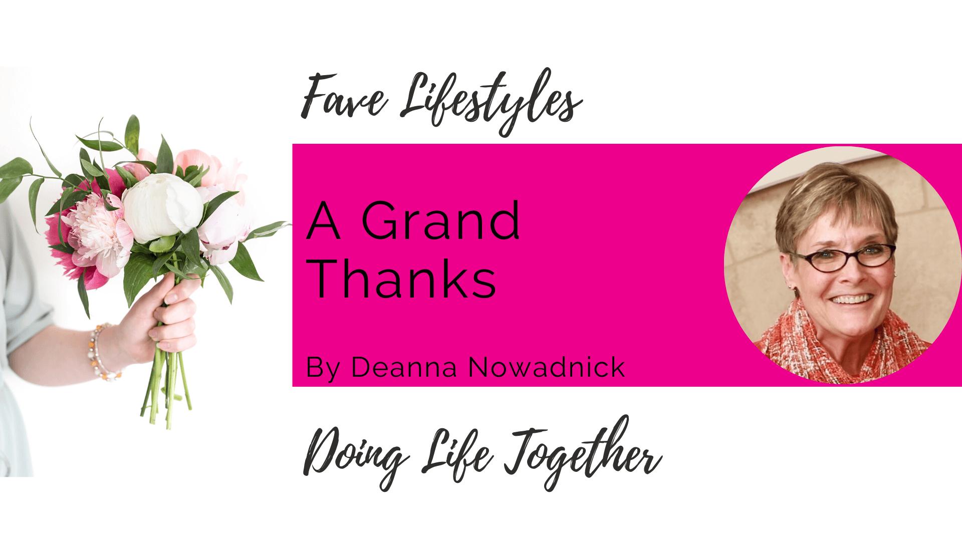 A Grand Thanks