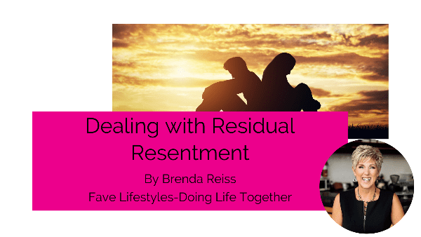 Dealing with Residual Resentment