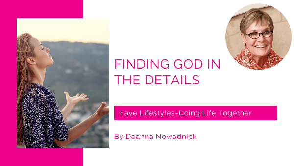 Finding God in the Details