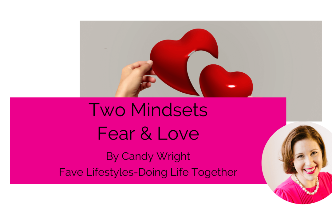 2 Mindsets Fear & Love
