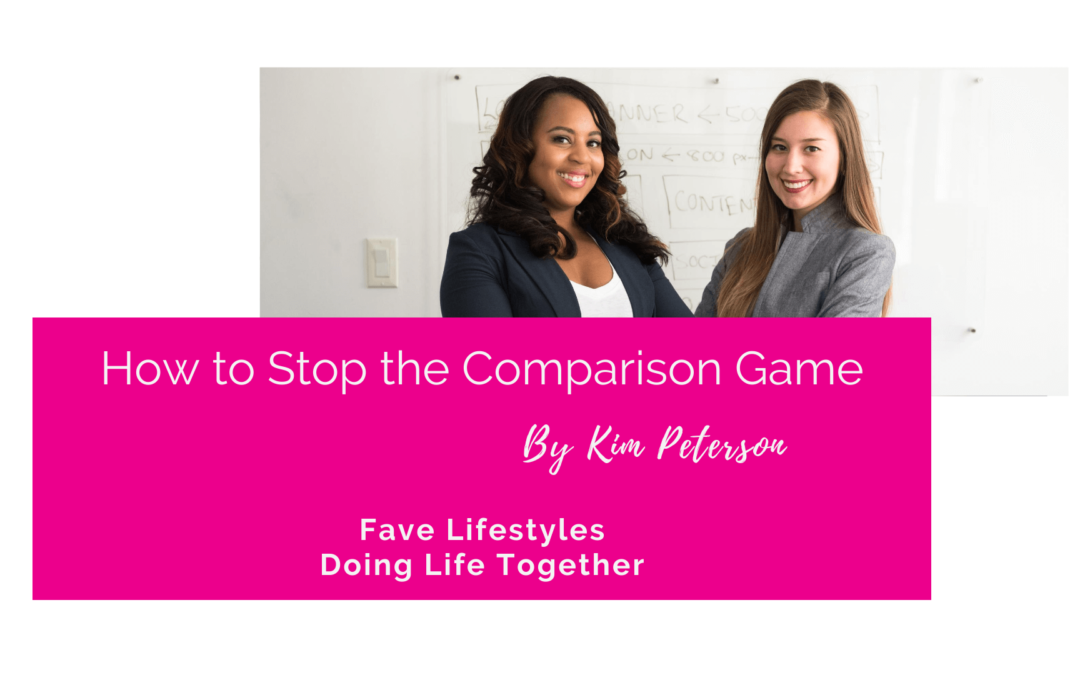How to Stop the Comparison Game