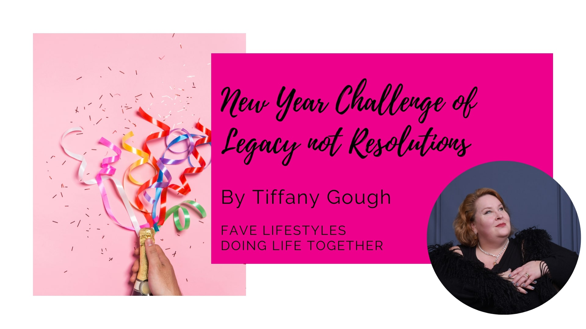 2021: New Year Challenge of Legacy not Resolutions