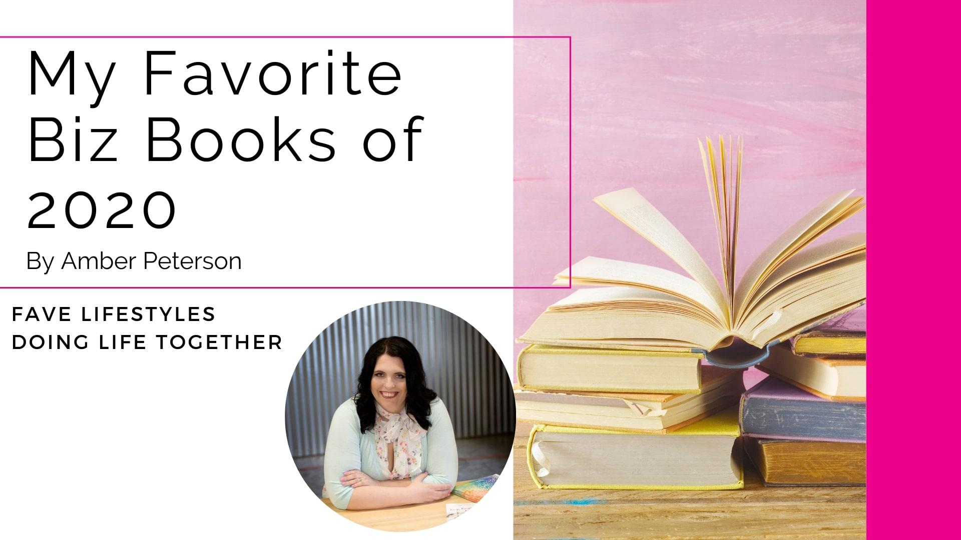 My Favorite Biz Books from 2020