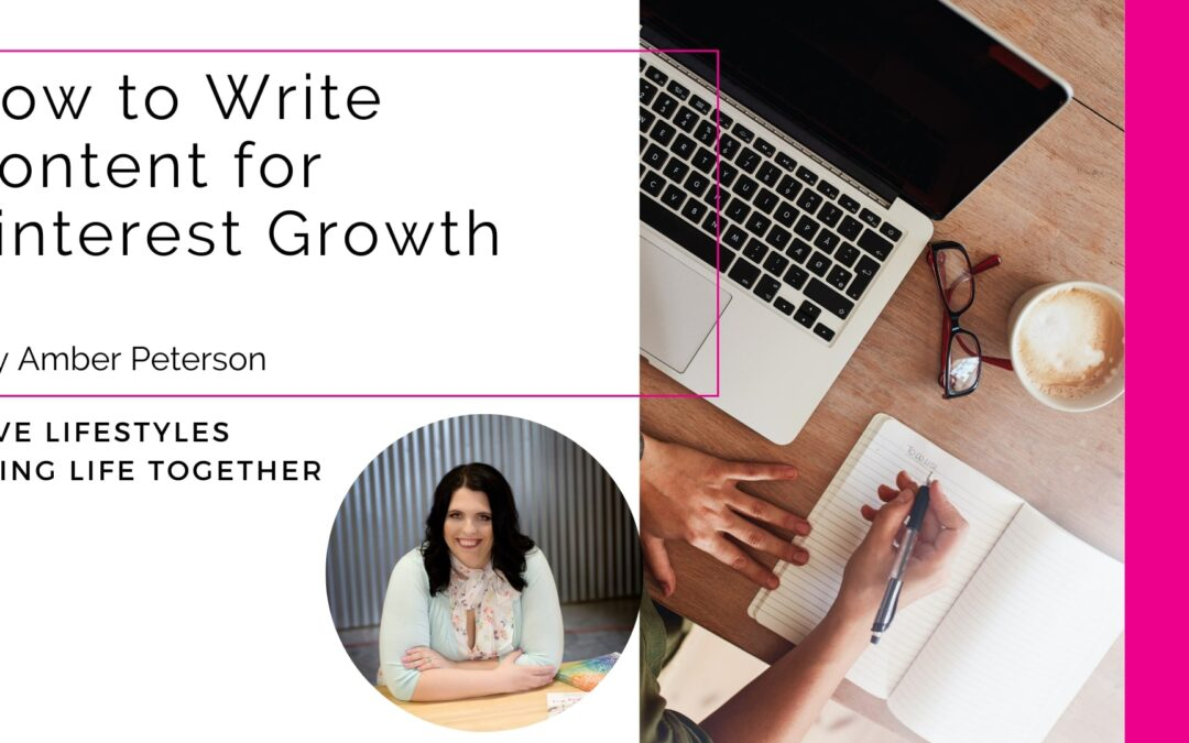How to Write Content for Pinterest Growth