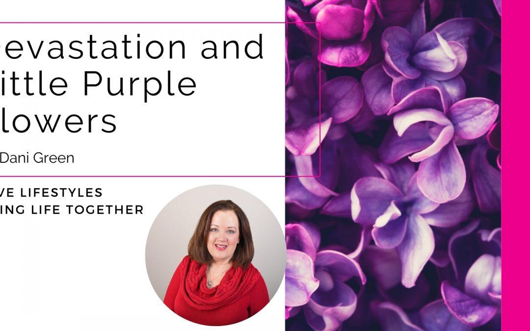 Devastation and Little Purple Flowers