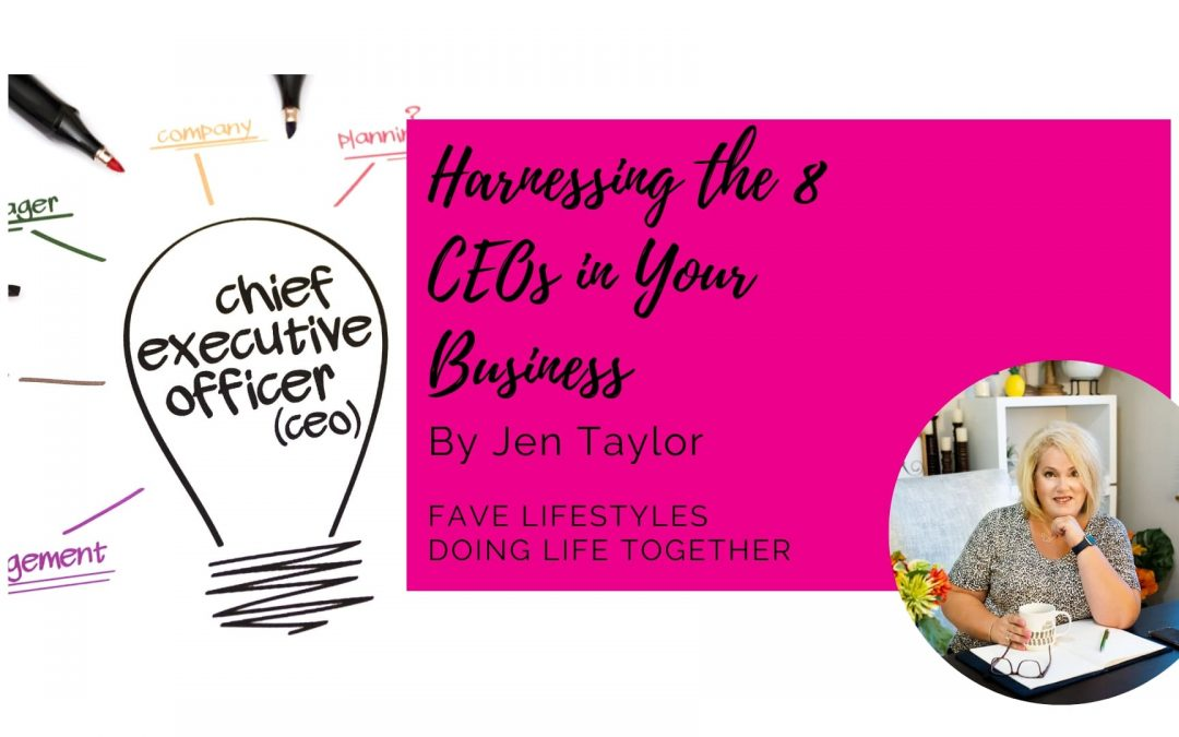 Harnessing the 8 CEOs in Your Business