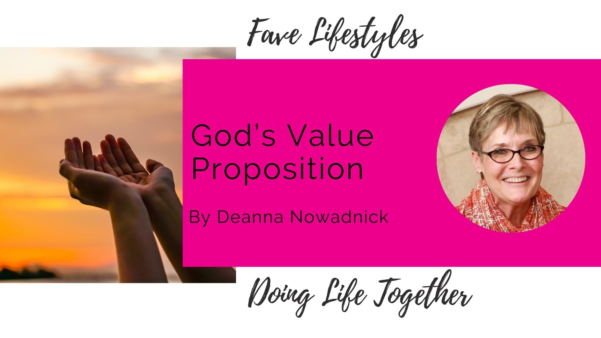 God's Value Proposition